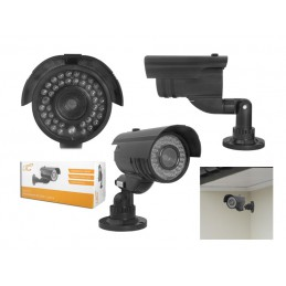 Atrapa kamery IR-2000 czarna / LxKAM11