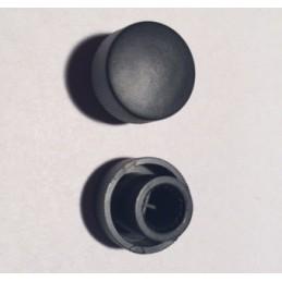 Gałka TYP-4 czarna na oś 6mm