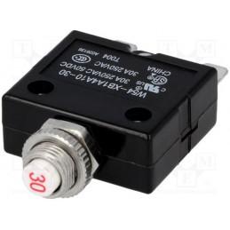 Wyłącznik nadprądowy-termobimetaliczny bezpiecznik 30A 250V / W54-XB1A4A10-30