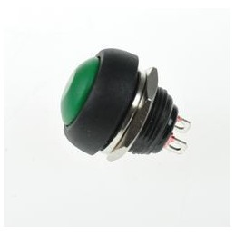 Przełącznik przycisk PBS33BL OFF(ON) zielony 1A/250V