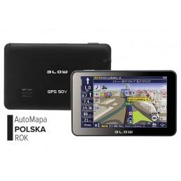 Nawigacja GPS BLOW GPS50V+ AutoMapa PL 1rok / 78-292