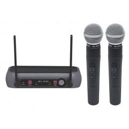 Mikrofon bezprzewodowy 2-kanały VHF PRM902 BLOW / 33-002