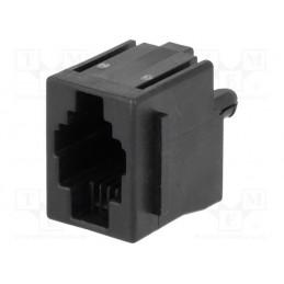 Gniazdo 4p4c RJ9 PIN4 do druku / RJ9GP-AMP