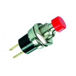 Przełącznik przycisk PB101A OFF(ON) chwilowy mały czerwony / 04600