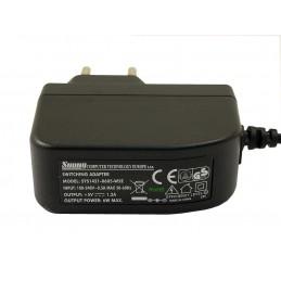 Zasilacz 5V/1,2A wt.5,5/2,1 (+) wtyczkowy SUNNY / SYS1421-0605/6W5V/1,2A