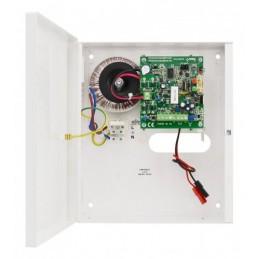 Zasilacz buforowy PSU-B-13,8V-L-1A z miejscem na akumulator 12V 1,2Ah