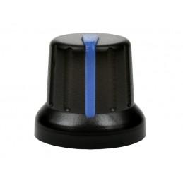 Gałka N-4 znacznik niebieski oś 6mm
