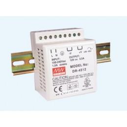 Zasilacz 12V-3,5A na szynę DIN DR-45-12 - 11738
