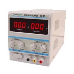 Zasilacz laboratoryjny 605D 0-60V 0-5A