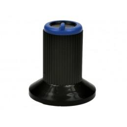 Gałka N-0 znacznik niebieski oś 4mm