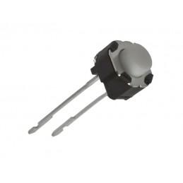 Mikroprzycisk 6mm okrągły 5/1,5mm 2n T / 13580