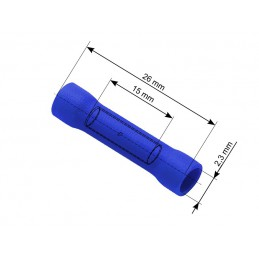 Konektor 4,5mm łącznik izolowany 1,5-2,5mm2