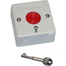 Przycisk antynapadowy TI2P z kluczykiem