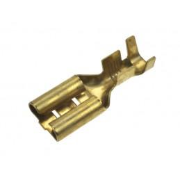 Konektor 9,5mm gniazdo nieizolowane KKR6 - 10909