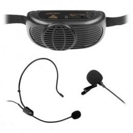 Zestaw nagłośnieniowy dla przewodnika z mikrofonem / MIK0041