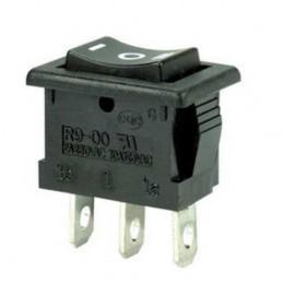 Przełącznik klawisz R9-32FS 3-poz mały 6A 250V chwilowy Highly / 01170