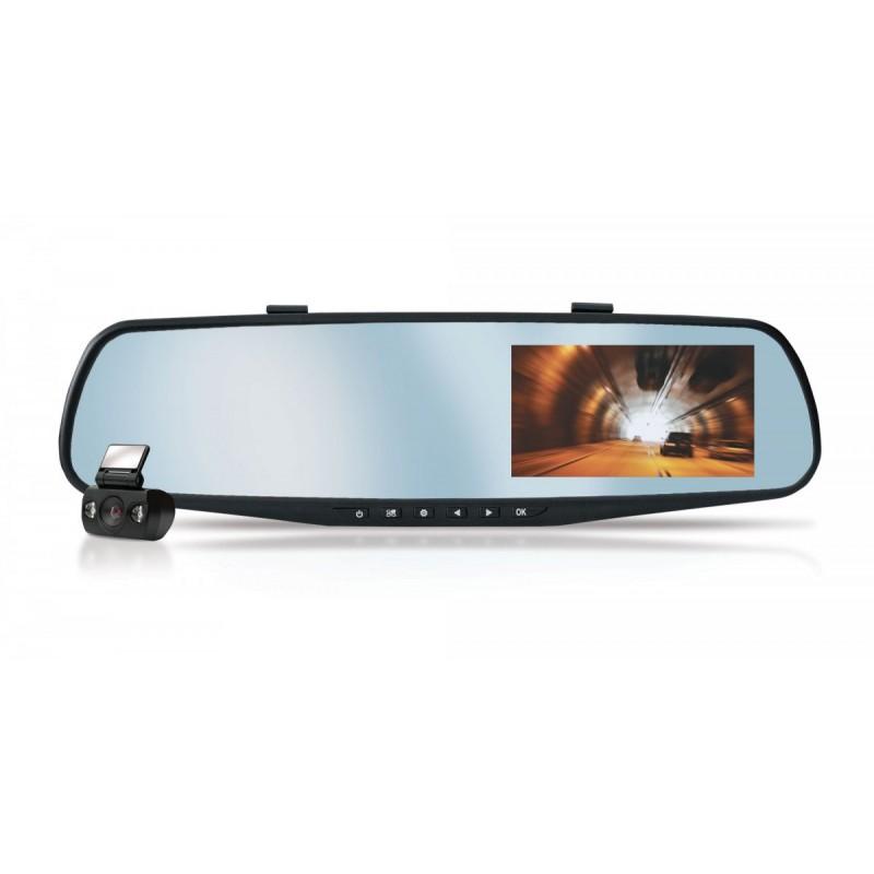 Rejestrator samochodowy CAR DVR XBLITZ 3w1 Park View lusterko + kamera tył