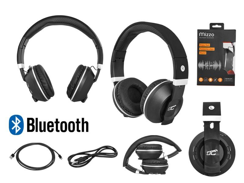 Słuchawki bluetooth nauszne LTC MIZZO czarne LxBT1002