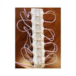 Moduł LED 45x30x14mm 2,1W 175lm biały zimny 6500K 12VDC 175mA IP65 SEMAFOR