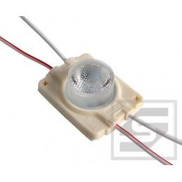 Moduł LED 49x31x14mm 3W 210lm biały zimny 6500K 12VDC 250mA IP65 SEMAFOR