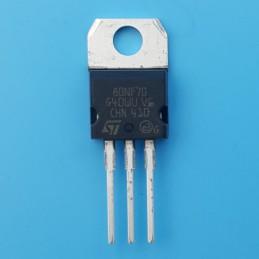 Tranzystor STP80NF70 N-kanał 68V 94A 35W nieizolowany TO220