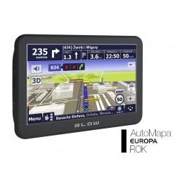 Nawigacja GPS BLOW Sirocco GPS730 8GB AM Eu 1rok / 78-304