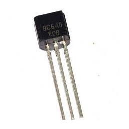 Tranzystor BC640 pnp 80V 0,8A 1W obudowa TO92 zamiennik BC369