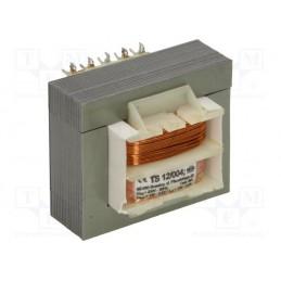TS12/004 2*12V 2*0,5A transformator sieciowy