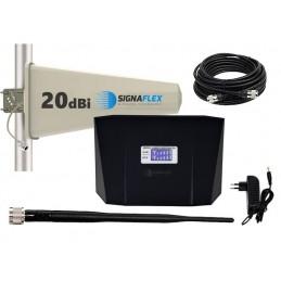 Wzmacniacz GSM/4G LTE REPEATER + antena zewn. Tajfun
