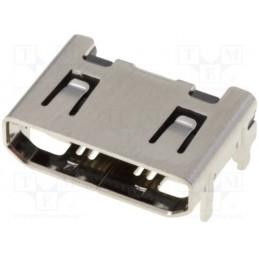 Gniazdo mini-HDMI 206G-SGAN-R01