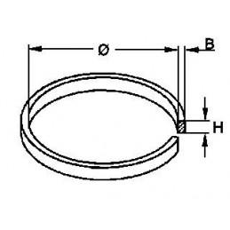 Pasek napędowy płaski 21x4,5x0,7mm / 90728