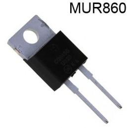 Dioda MUR860 600V 8A 50ns TO-220