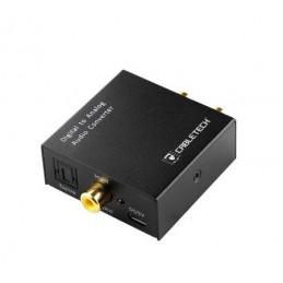 Konwerter sygnału AUDIO cyfra/analog-optyczne/RCA - zasilany z USB / ZLA0857-2