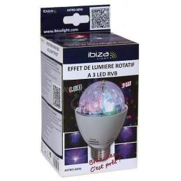 Efekt świetlny LEDx4 RBGA E-27 / LSP ASTRO-MINI