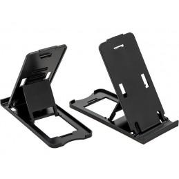 Podstawka pod telefon-tablet czarna - 76-501