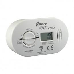 Detektor czujnik tlenku węgla (czadu) z wyświetl. Kidde na baterie 3xR6 / KID-5DCO dpm