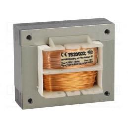 TS20/022 2x12V 2x0,8A transformator sieciowy