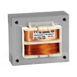 TS20/036 12V 1,7A transformator sieciowy