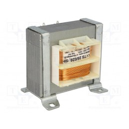 TS25/028 2x15V 2x0,85A transformator sieciowy