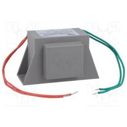 TSZZBA 22/001M 17V 1,29A transformator sieciowy zalewany do alarmów
