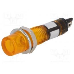 Kontrolka 7,5mm 12V żółta /...