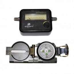 Miernik Sat-Finder z dodatkowy kompasem ręcznym / SATFINDER-KIT dpm