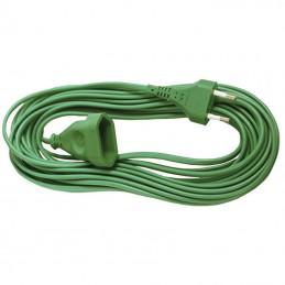 Przedłużacz elektryczny 1,5m/1gn. b.u. wąski zielony / PCH1 dpm