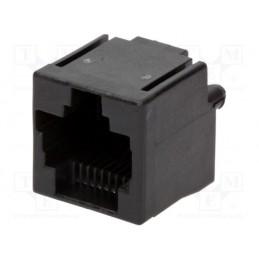Gniazdo 8p8C RJ45 proste do druku / 5555799-1