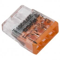 Szybkozłączka 2273-203 3x0,2-2,5mm na drut WAGO