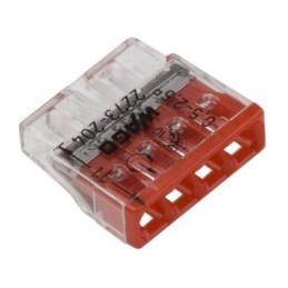 Szybkozłączka 2273-204 4x0,2-2,5mm na drut WAGO