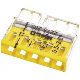 Szybkozłączka WAGO 2273-205 na drut 5x0,2-2,5mm