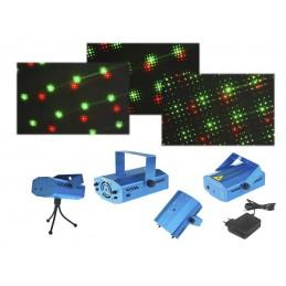 Projektor laserowy 3D z czujnikiem dzwięku / LxAS140