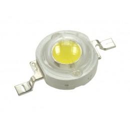 Dioda LED mocy 3W Power LED biała zimna 6500K 180lm 3,6V 0,8A 120st