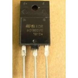 Tranzystor MD1802FX npn 1500V 10A izolowany TO-218 zamiennik za BU1508AX